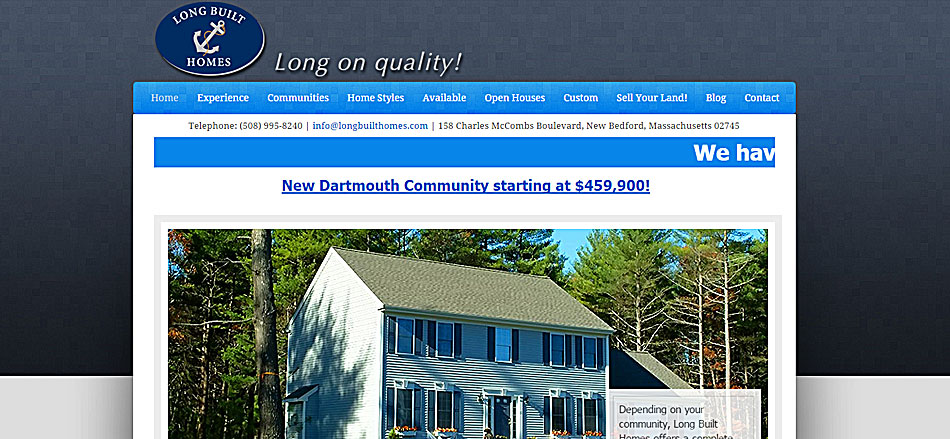 Website Design & Hosting in Massachusetts, New England and the Internet Community